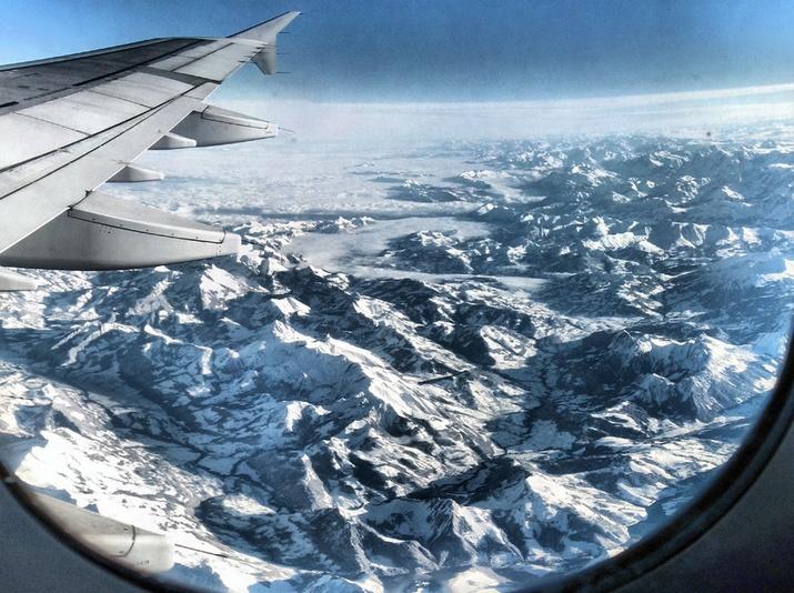 В Альпы – на самолете